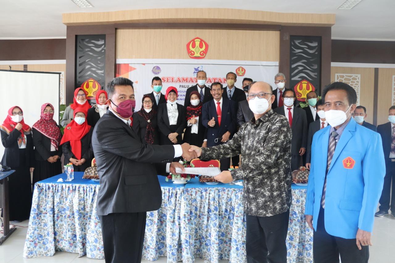 Pelantikan Pengurus HILPI Sulteng Periode 2021-2024